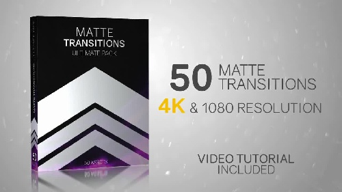 دانلود 50 ترانزیشن مت 50Matte Transitions - Ultimate Pack - Motion Graphics